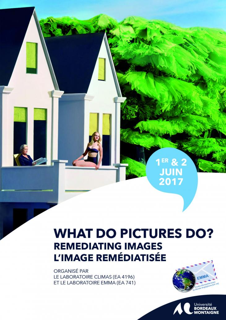 Affiche colloque What do pictures do?
