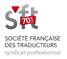 logo 70 ans de la société française des traducteurs